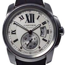 Cartier 42mm Automático 2013 usado Calibre de Cartier (Submodel) Prata