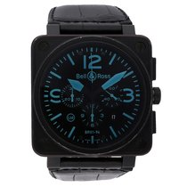 Bell & Ross BR01-94 Chronograph Blue Limited Edition BR01-94-SBLU