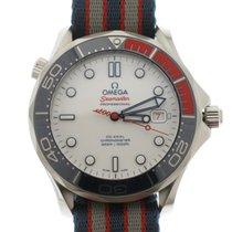 Omega Seamaster Diver 300 M Zeljezo 41mm Bjel Bez brojeva