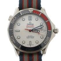 Omega Seamaster Diver 300 M Acier 41mm Blanc Sans chiffres