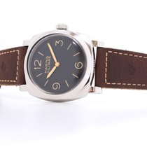 Panerai pre-owned Manual winding 47mm Black Plexiglass 10 ATM