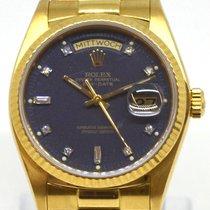 Rolex Day-Date LC100 DEUTSCH - FULLSET President mit Steinen 1983