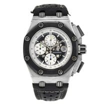 Audemars Piguet Royal Oak Offshore Chronograph Титан 42mm Чёрный Без цифр