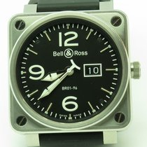 Bell & Ross BR 01-96 Grande Date Stahl 46mm Schwarz