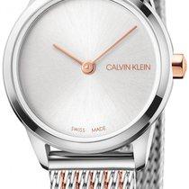 ck Calvin Klein Steel 24mm Quartz K3M23B26 new