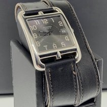 Hermès 33mm Quartz 1990 pre-owned Cape Cod Black