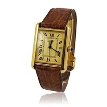 Cartier Tank Vermeil pre-owned 25mm Yellow gold