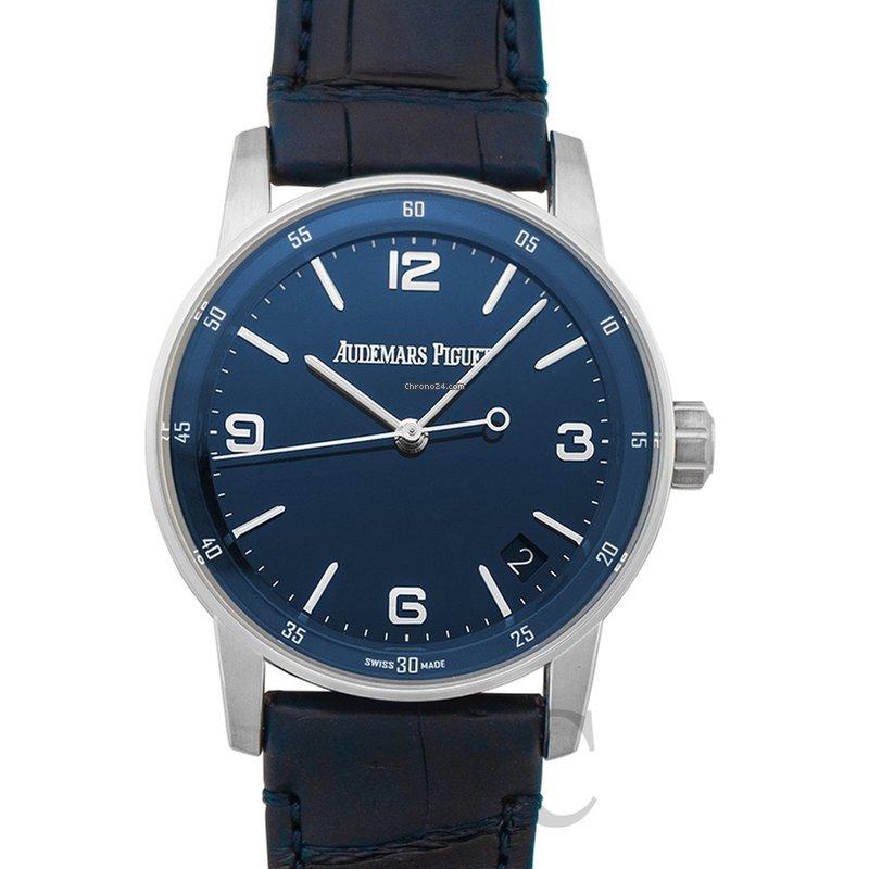 huge discount 8d1ba bf240 Audemars Piguet Code 11.59 Blue Dial Men's Watch - 15210BC.OO.A321CR.01