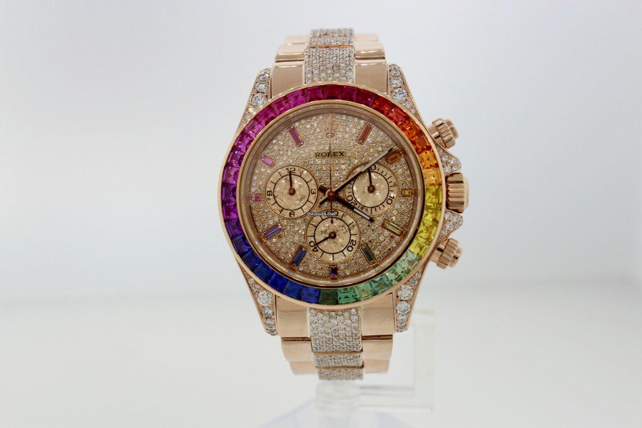 04ba3ea58cc39 Compre um Rolex Rainbow ao melhor preço na Chrono24