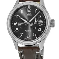 Oris Steel Automatic No numerals new Big Crown ProPilot Worldtimer