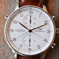 IWC Portuguese Chronograph Staal 41mm Zilver Arabisch Nederland, Eijsden