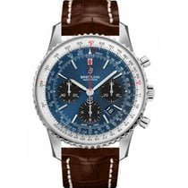 Breitling Navitimer 1 B01 Chronograph 43 AB0121211C1P2 New Steel 43mm Automatic