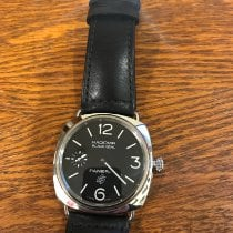 Panerai Radiomir Black Seal Steel 45mm Black Arabic numerals United States of America, Massachusetts, Saratoga