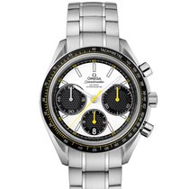 Omega 326.30.40.50.04.001 Steel 2020 Speedmaster Racing 40mm new