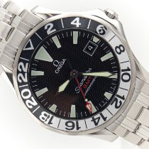 Omega Seamaster Diver 300 M Steel 41mm Black No numerals