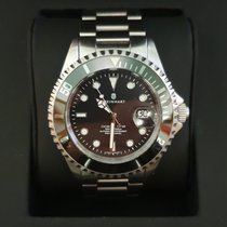 Steinhart Ocean 1 Steel 42mm Black No numerals