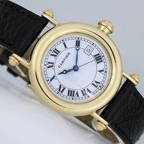 Cartier Diabolo Yellow gold 32mm White Roman numerals