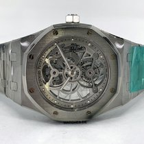 Audemars Piguet Royal Oak Tourbillon Сталь 41mm Прозрачный