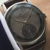 Omega Top 37mm Omega Oversize 30t2 Jumbo Watch with two tone dial