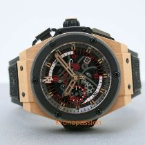 Hublot King Power Or rose 48mm Transparent Sans chiffres