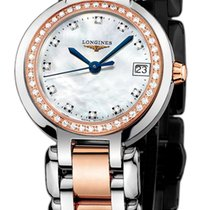 Longines PrimaLuna Gold/Steel 26.5mm Mother of pearl United States of America, New York, Airmont