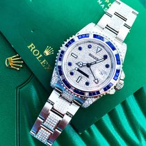 Rolex GMT-Master II Custom Diamond & Sapphire