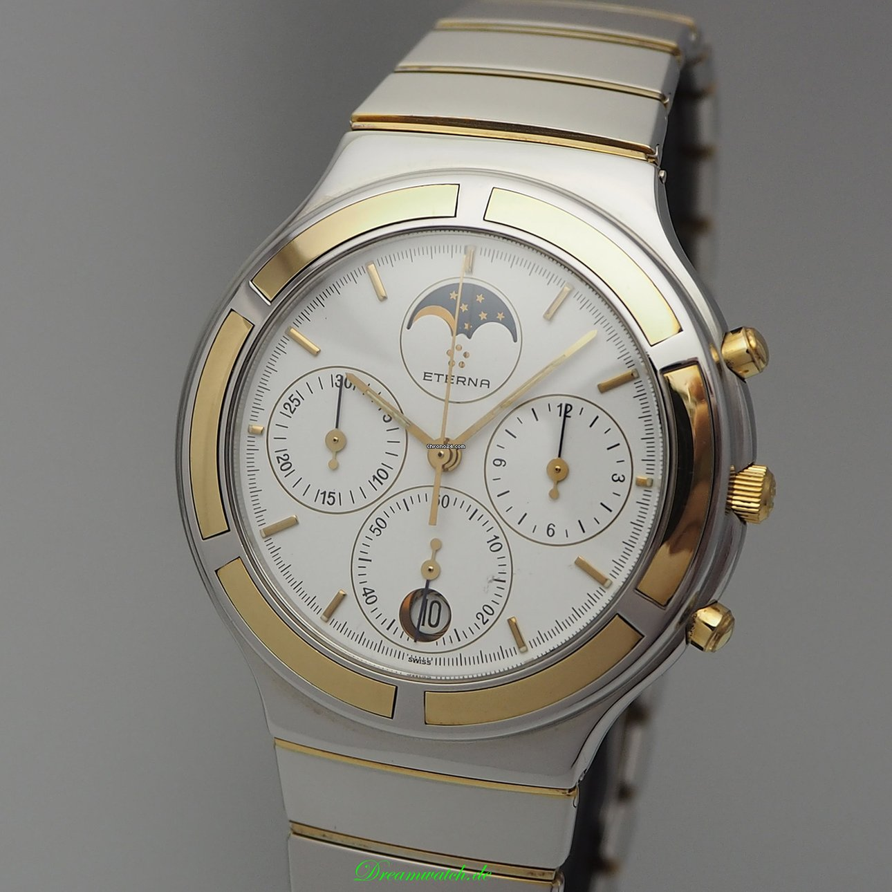 Details about ETERNA Airforce Eterna Matic Automatic Watch Ref. 8417.41 (Like New Condition)