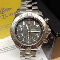 Breitling Avenger Skyland A13380 Grey Dial - Serviced by...