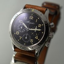 Breguet Type XX Aeronavale steel Chronograph, cal. 582,...