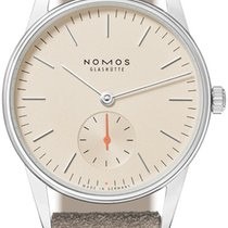 NOMOS Orion 33 Steel 32.8mm Champagne United States of America, New York, Airmont