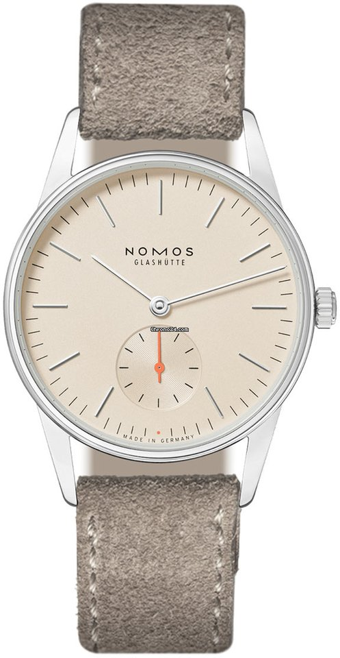 NOMOS Orion 33 327 Stainless Steel Back 2021 new