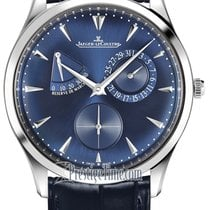 Jaeger-LeCoultre Master Ultra Thin Réserve de Marche Steel 39mm Blue United States of America, New York, Airmont