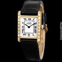 Cartier Vintage Ladies Tank Mechanical Watch - Gold Vermeil,...