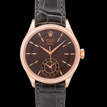 Rolex Cellini Dual Time new Rose gold
