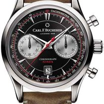 Carl F. Bucherer new Automatic Display Back Small Seconds Steel Sapphire Glass