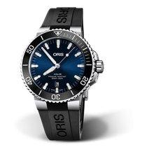 Oris Aquis Date Steel Blue