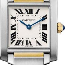 Cartier Tank Française new 2020 Quartz Watch with original box and original papers W2TA0003