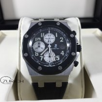 Audemars Piguet Chronograph 42mm Automatic 2005 pre-owned Royal Oak Offshore Chronograph Black