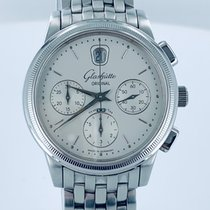Glashütte Original Senator Chronograph Steel 39mm Silver No numerals