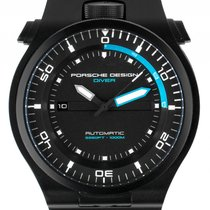 Porsche Design new Automatic Luminescent Hands Power Reserve Display Luminous indexes PVD/DLC coating 47mm Steel Sapphire Glass