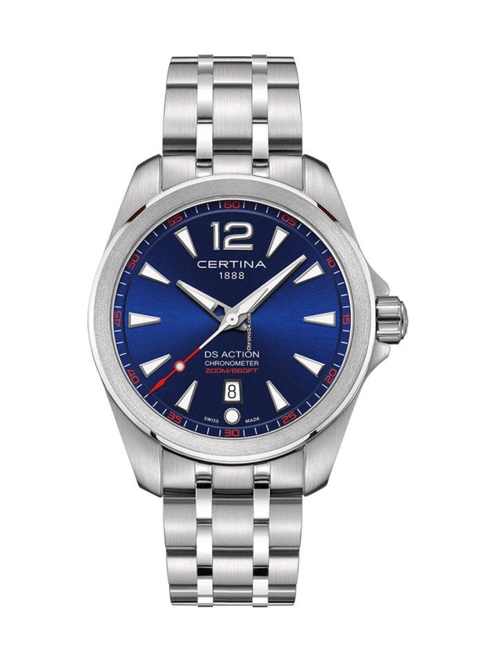 Certina Heritage DS Action Chronometer COSC C032.851.11.047.00 eladó 130  183 Ft Trusted Seller státuszú eladótól a Chrono24-en 350bdfdb0b