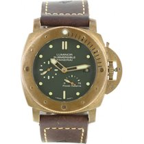 Panerai Bronze Remontage automatique Vert 47mm occasion Special Editions
