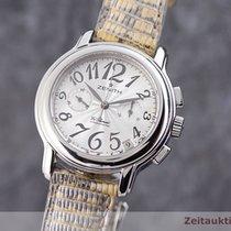 Zenith El Primero Chronomaster Lady Acero 37.5mm Plata