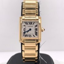 Cartier Tank Française Yellow gold 22mm White Roman numerals United States of America, New York, New York