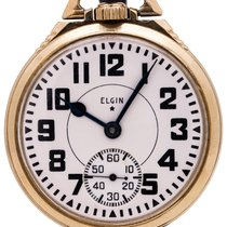Elgin Manual winding B. W pre-owned