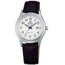 Orient Silver White Arabic numerals 31mm new
