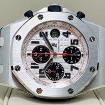 Audemars Piguet Royal Oak Offshore Chronograph occasion 42mm Argent Chronographe Date Acier