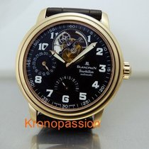 Blancpain Léman Tourbillon Yellow gold 38mm Black Arabic numerals United States of America, Florida, Boca Raton