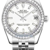 Rolex Datejust Steel 31mm White