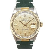 Rolex Chronometer 36mm Automatic 1970 pre-owned Datejust (Submodel) Champagne